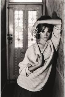 1961 - Jean Shrimpton at Bailey's family home by David Bailey.
