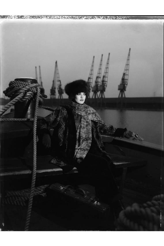 1983 - Catherine Bailey, Docks by David Bailey.