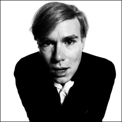 Andy Warhol, 1965 by David Bailey.