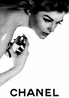 Candice Bergen for Chanel by David Bailey.