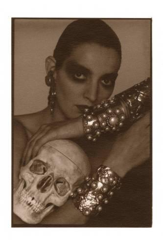 Catherine Bailey by David Bailey, 1989.