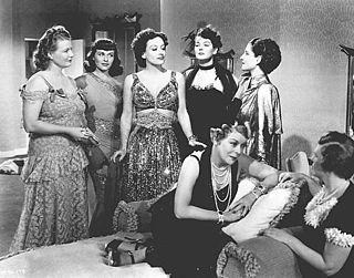 Costumes designed by Adrian in George Cukor's 1939 film, The Women