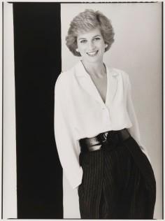 Diana, Princess of Wales by David Bailey, bromide print, 1988.