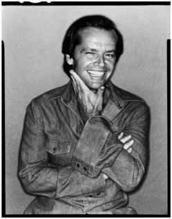 Jack Nicholson, 1978 by David Bailey