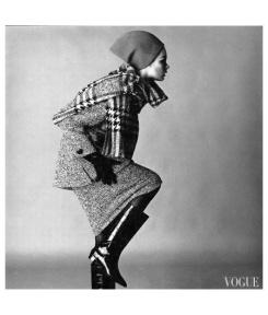 Jean Shrimpton for Vogue, November 1963, Photo by David Bailey.