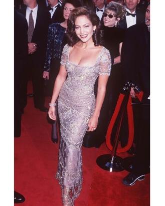 Jennifer Lopez at the Academy Awards.