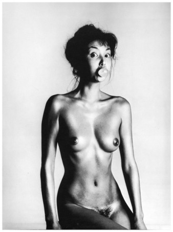 Marie Helvin, Trouble and Strife series, 1980, by David Bailey.