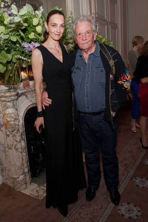 May, 2010 - David Bailey with his wife Catherine.