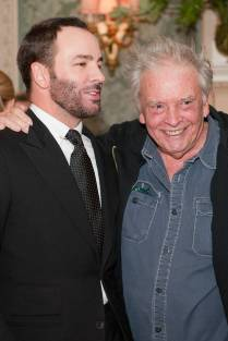 May, 2010 - Tom Ford with David Bailey.