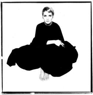 Mia Farrow Photo David Bailey, 1967.