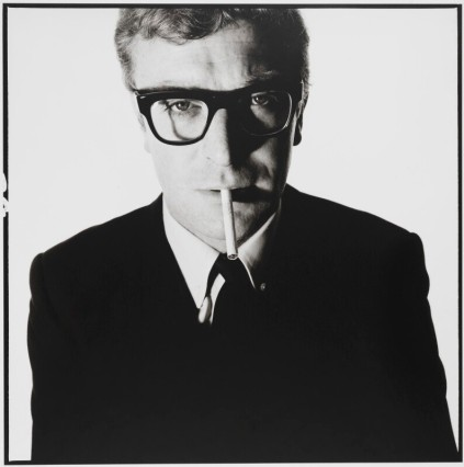 Michael Caine by David Bailey bromide print, May 1965.