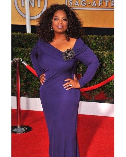 Oprah Winfrey at SAG Awards of 2014.