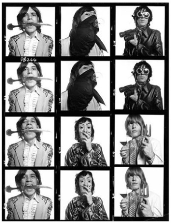 Rolling stones contact sheet , 1968.