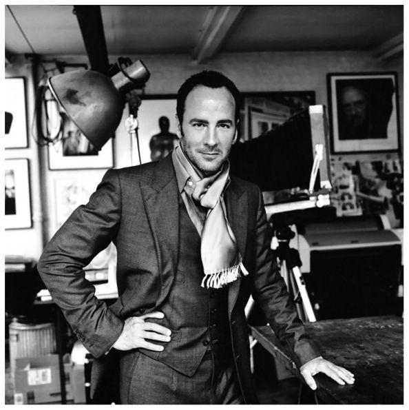 Tom Ford Portrait by David Bailey (2006).