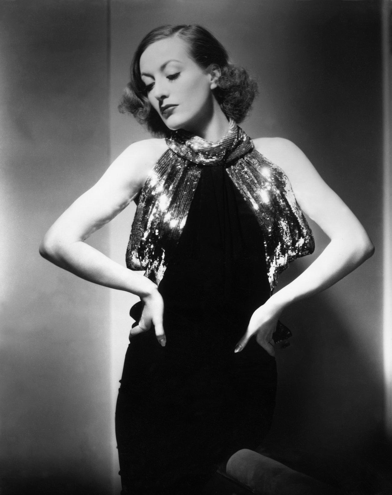 Gilbert Adrian costume for Joan Crawford in Sadie McKee