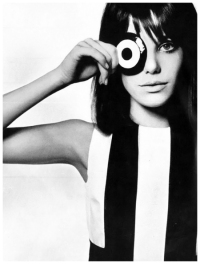Jane Birkin Photo David Bailey Vogue UK June 1965