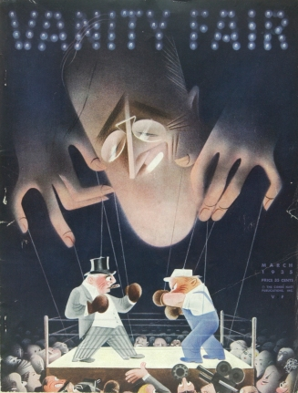 Vanity Fair's Cover, March 1935.