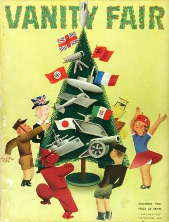 Vanity Fair's Cover, Dezember 1934.