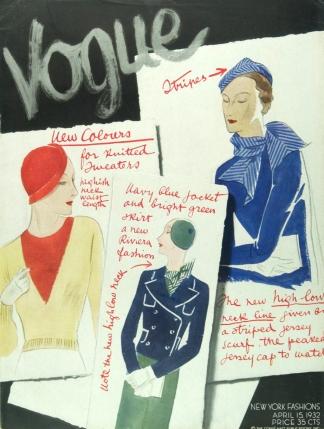 Vogue's Cover, April 1932..