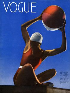 Vogue's Cover, July 1932.