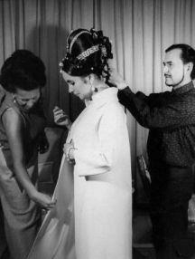 Alexandre de Paris and Elizabeth Taylor.