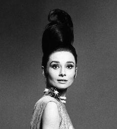 Alexandre de Paris and Audrey Hepburn.