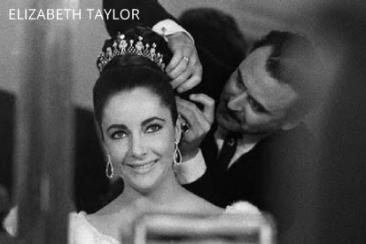 Alexandre and Elizabeth Taylor