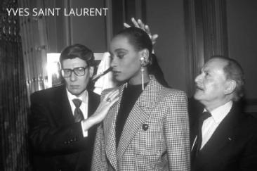 Alexandre and Yves Saint Laurent