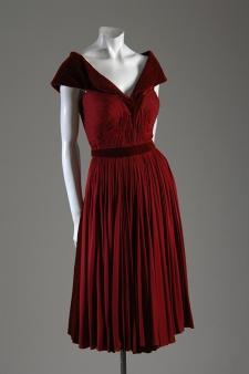 Dress by Madame Grès, circa 1948/49.
