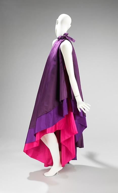Dress by Madame Grès, Fall/Winter 1972.