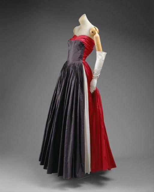 Dress by Madame Grès, 1951.