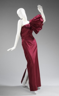 Evening dress by Madame Grès, Fall/Winter, 1979–80.