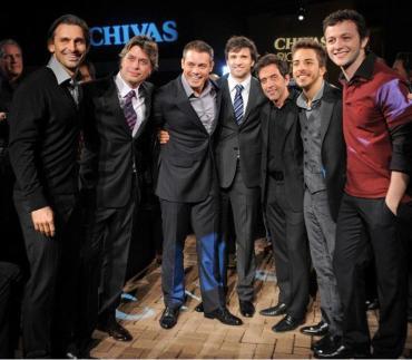 Brazilian celebrities wearing Ricardo Almeida.