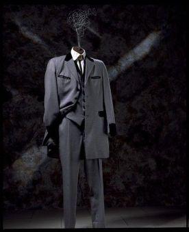 A Hardy Amies model.
