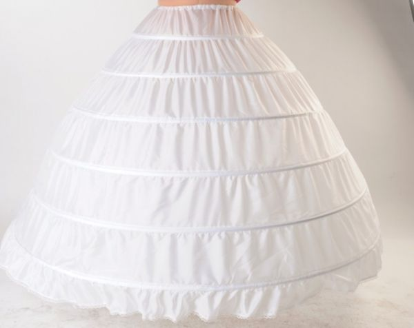 A simple petticoat without crinoline.