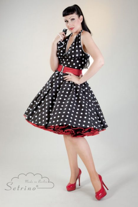 """An example of """"New Look"""" with red petticoat."""
