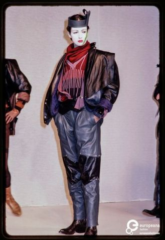 France Andrevie's Fall/Winter 1982 fashion show.
