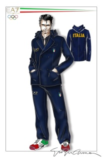 Armani - Olympics Uniform - Man.