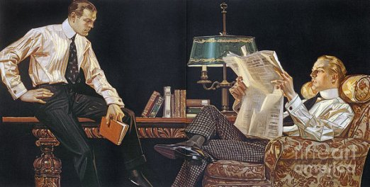 Illustrated by J. C. Leyendecker for Arrow.