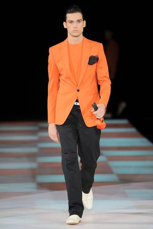 Emporio Armani - Menswear - Spring, 2010 - Look 49 - Unknown