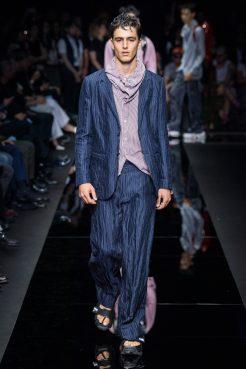 Emporio Armani - Menswear - Spring, 2020 - Look 59 - Unknown