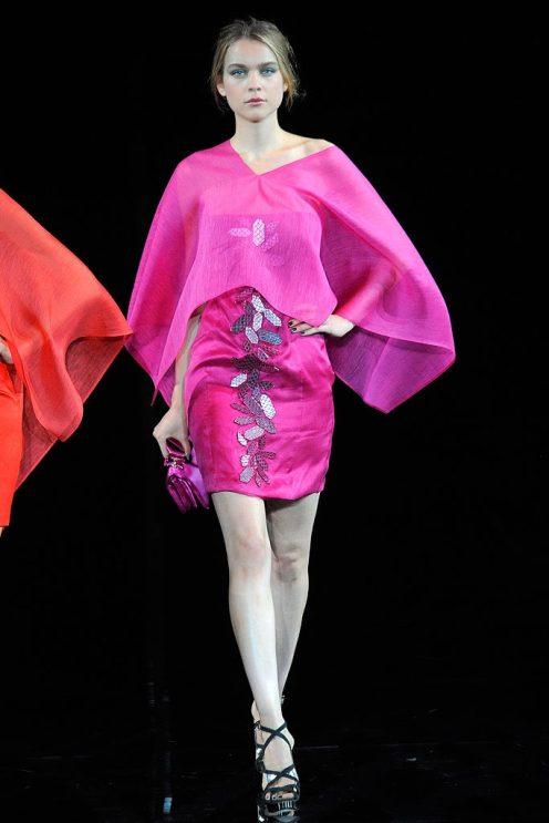 Emporio Armani - Womenswear - Spring, 2010 - Look 67