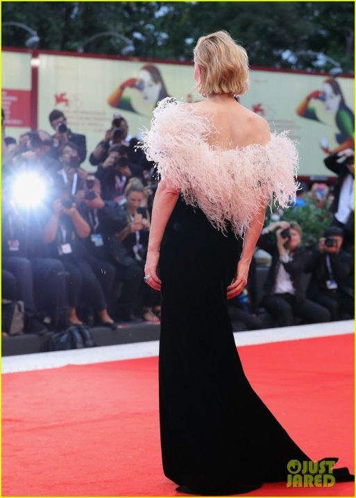 Red Carpet - Cate Blanchett wearing Armani Privé at the 75th Venice film festival in 2008 (back).