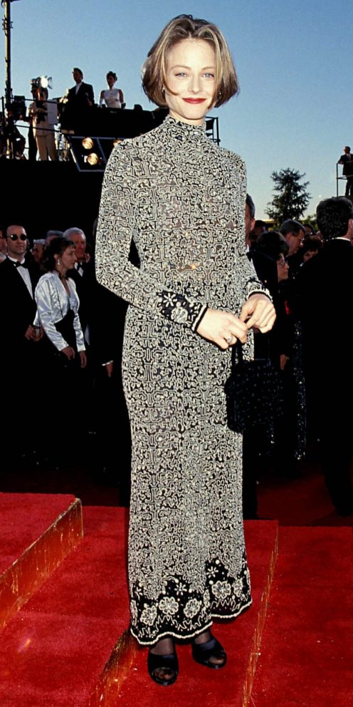 Red Carpet - Jodie Foster wearing Armani at the 67th Annual Academy Awards in 1995