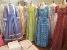Dresses by Laura Ashley.