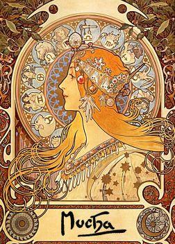 Zodiac by AlphonseMucha.