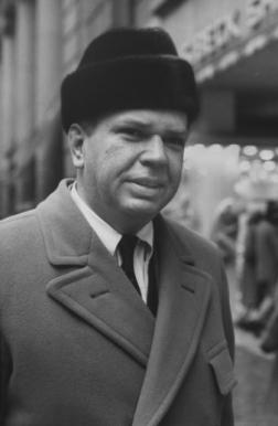 Karakul hat, New York, 1961.