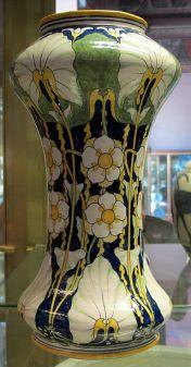 Flower vase by Galileo Chini, ca. 1896-1898.
