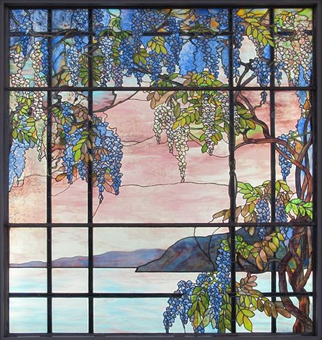 Veduta di Osyster Bay by Louis C. Tiffany, 1908.